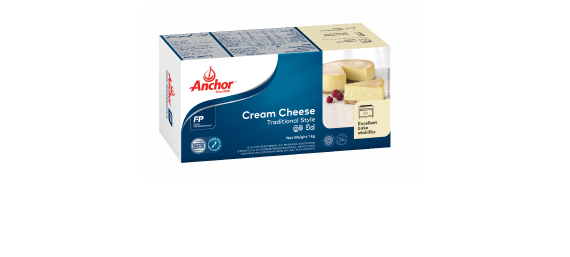 Anchor Food Professionals Traditional Style Cream Cheese 1kg